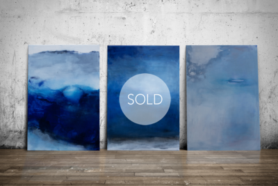 Three elements: WATER – EARTH – AIR / sold!
